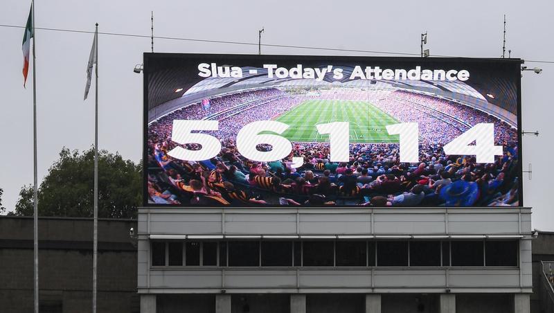 GAA Womens final new attendance record set