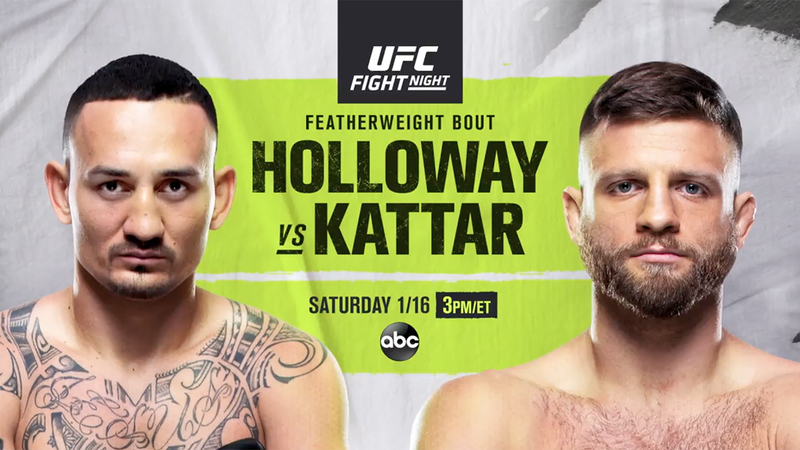 Max Holloway vs Calvin Kattar