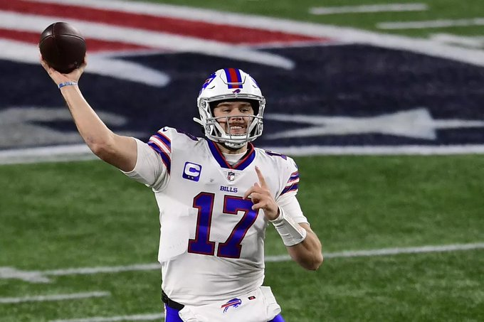 josh allen sets new passing yards record for buffalo bills